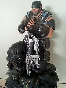 Marcus Fenix 12 inch statue that came with gears of war3 bundle West Island Greater Montréal image 1