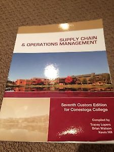 Supply Chain and Operations Textbook 6th Edition