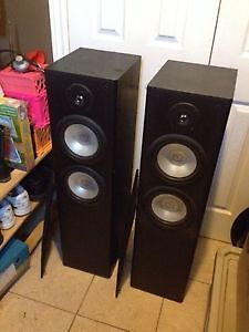 3 set of Tower Speaker, Amplifier and more