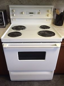 Stove and Fridge (used)- Must Go!