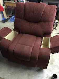 Oversized fabric recliner for sale