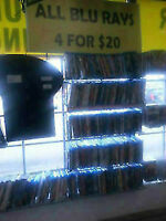 Blu-Ray DVD's $7 each or 4 for $20