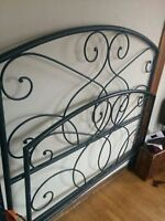 Beautiful Wrought Iron Bed Frame $250 OBO