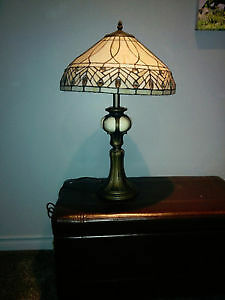 Vintage Tiffany Style Lamp- New Price!