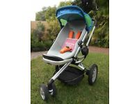 QUINNY BUZZ 3 IRON CARRYCOT AND BUGGY