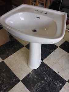 Pedestal Sink and Base