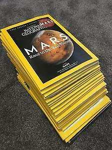 28 1990's National Geographic Magazines