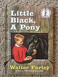 Little Black, A Pony- Vintage Children's Hard Cover book