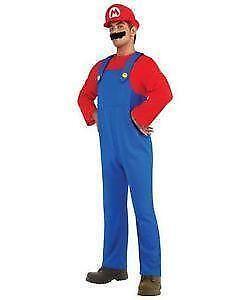Menu0027s Super Mario Costumes  sc 1 st  eBay & Mario Costume | eBay