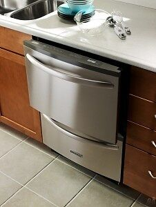 KitchenAid dual drawer dishwasher, Stainless Steel , great condi