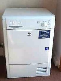 87 Indesit IDC75 7kg White Condenser Tumble Dryer 1 YEAR GUARANTEE FREE DELIVERY