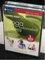 Yoga, ball and pilates