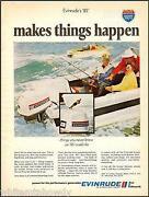 Vintage Evinrude Outboard Motor