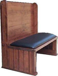 wood restaurant booth - Restaurant Booths For Sale