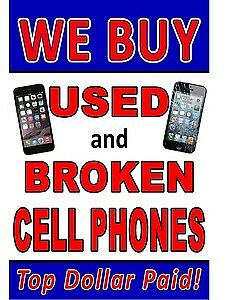 Buying all CRACKED OR LOCKED iPhone 6S 7 or 8 For Cash!
