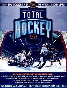 TOTAL HOCKEY official 1998 NHL Encyclopedia, 1878 pages