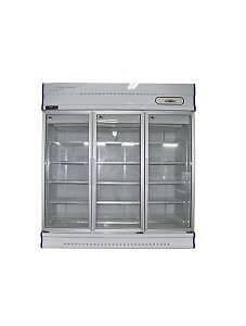 Three Glass Door Display Freezer GDJ1881-1500Lt Catering Equipmen