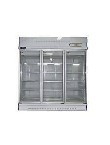 Three Glass Door Display Freezer GDJ1881-1500Lt Catering Equipmen