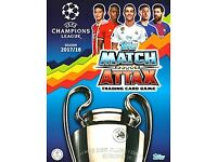 Match Attax Champions League 2017/18 cards to swap