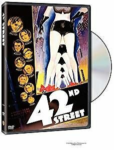 42nd STREET DVD Busby Berkeley Ginger Rogers Ruby Keeler