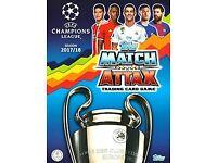 Match Attax Champions League 2017/18 Cards