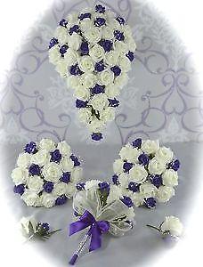 Wedding flowers ebay wedding flowers bouquet junglespirit Image collections