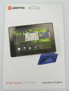 GRIFFIN - BlackBerry PlayBook Screen Protector + Cleaning Cloth