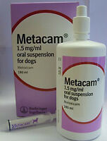 Metacam - Oral Suspension - 100ml - Pet Medicine for Dogs