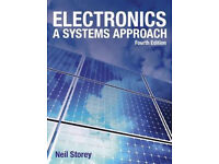 NEW!!! Electronics: A Systems Approach Paperback Book