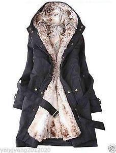 Womens Faux Fur Winter Coats