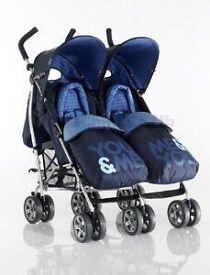 Cassatto twin buggy pushchair