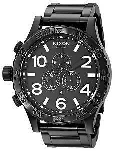 Men's Nixon Black Chrono Watch