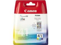 Canon 41 ink cartridge new sealed (Bath)