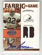 Jim Brown Jersey Card