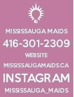 Mississauga Maids welcoming new clients