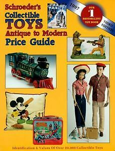 Collectible antique toy price guide / book.