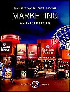 Marketing - An introduction Sixth Canadian Addition