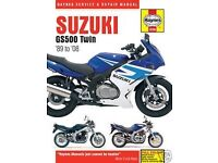 Suzuki GS500 Haynes Manual