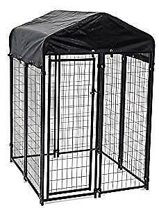 Lucky Dog Uptown Welded Wire Kennel (5'Hx5'Wx5'L)