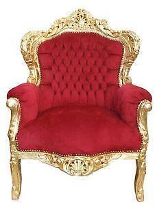 ohrensessel barock bestseller shop f r m bel und einrichtungen. Black Bedroom Furniture Sets. Home Design Ideas