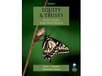 Equity and Trusts: Text, Cases and Materials by Davies and Virgo