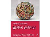 Global Politics by Andrew Heywood