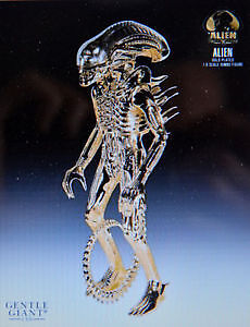 SIDESHOW GENTLE GIANT ALIEN GOLD DELUXE 35 ANS NEUF