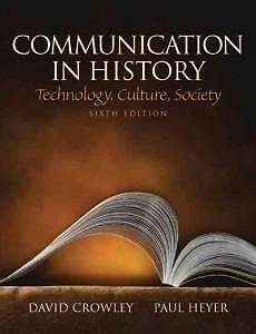 CS100 Communication in History 6th ed. (By: Crowley and Heyer) Kitchener / Waterloo Kitchener Area image 1