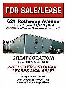 Warehouse/office space for sale or lease