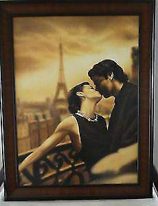 Extra Large Framed  Canvas Picture