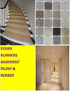 CARPET, WALL TO WALL, INSTALLED, RUNNER-MISSISSUAGA