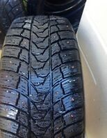 Set of 4 205/55/16 studded tire