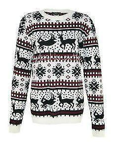 Reindeer Sweater | eBay