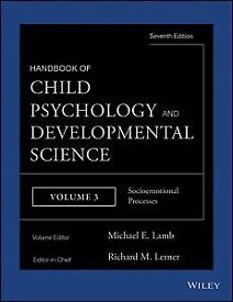 Handbook of Child Psychology and Developmental Science, Socioemotional Processes